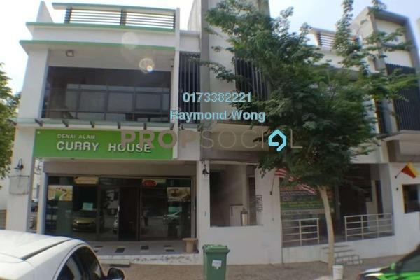 For Rent Shop at E-Boulevard, Denai Alam Freehold Unfurnished 0R/2B 5.5k