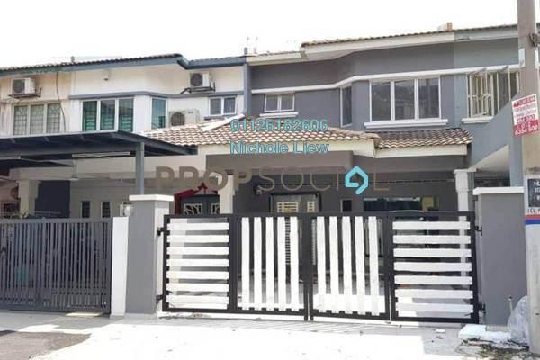 For Sale Link at Taman Sentosa, Klang Freehold Semi Furnished 4R/3B 455k