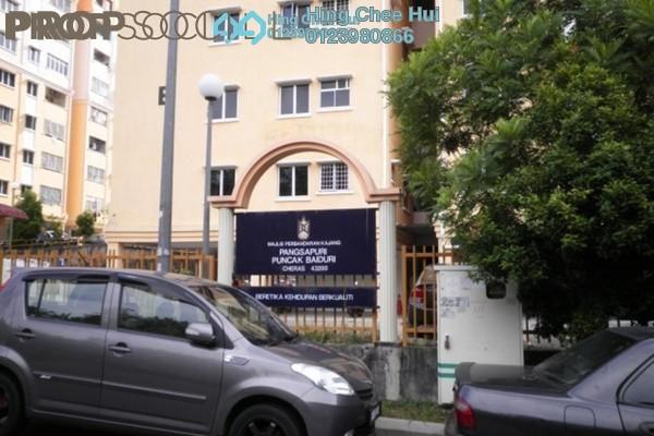 For Sale Apartment at Puncak Baiduri, Cheras South Freehold Semi Furnished 3R/2B 290k