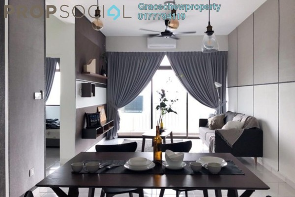 For Rent Apartment at Sky Garden Residences, Chemor Freehold Fully Furnished 3R/3B 1.98k