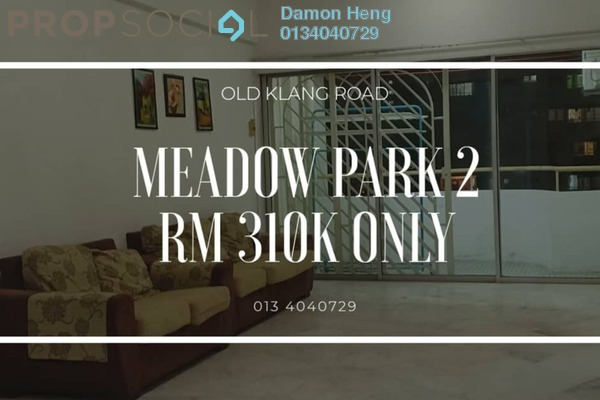 For Sale Condominium at Meadow Park 2, Old Klang Road Freehold Semi Furnished 3R/2B 310k