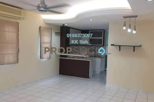 For Sale Link at Seksyen 7, Bandar Mahkota Cheras Freehold Semi Furnished 4R/3B 600k
