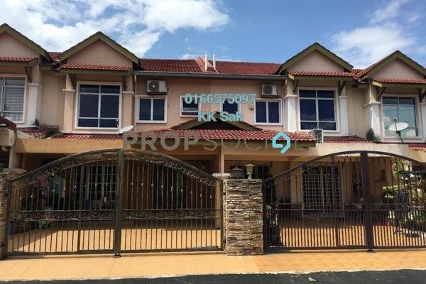 For Sale Link at Taman Kajang Prima, Kajang Freehold Semi Furnished 4R/3B 600k