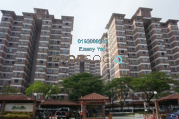 For Rent Condominium at Green Acre Park, Bandar Sungai Long Freehold Semi Furnished 3R/2B 1.2k