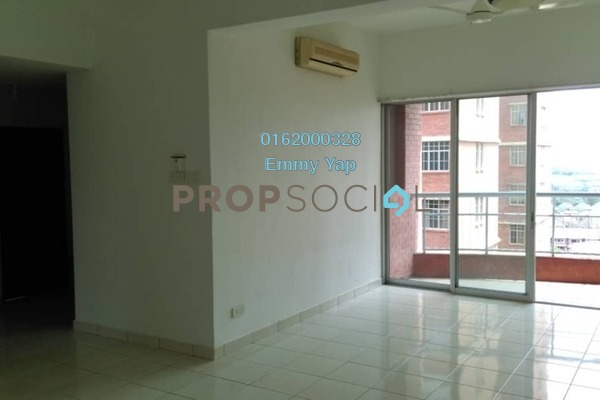 For Rent Condominium at Greenview Residence, Bandar Sungai Long Freehold Semi Furnished 3R/2B 1.1k