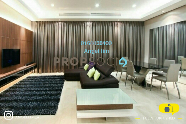 For Rent Condominium at Vipod Suites, KLCC Freehold Fully Furnished 3R/2B 5.8k