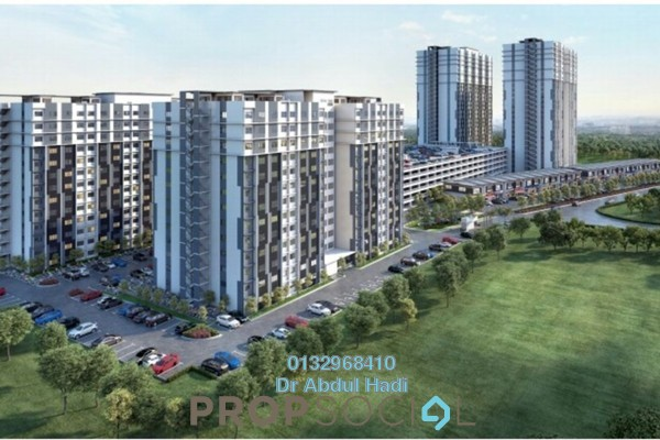 For Sale Apartment at D'Melor, Cyberjaya Freehold Unfurnished 3R/2B 270k