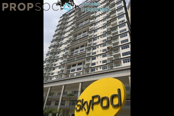 For Sale Condominium at Skypod, Bandar Puchong Jaya Freehold Unfurnished 1R/1B 508k