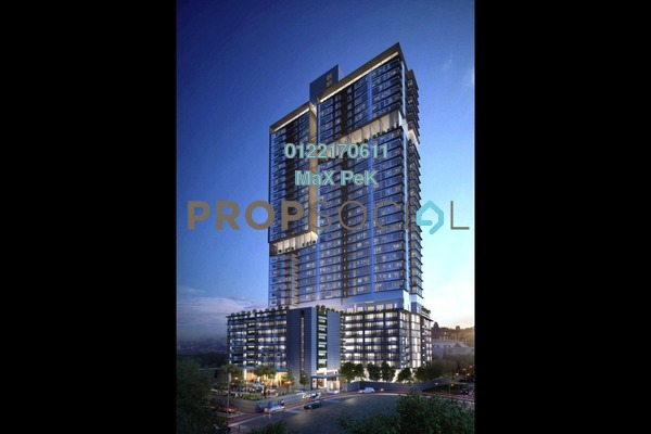 For Sale Condominium at Rica Residence, Sentul Freehold Unfurnished 2R/2B 620k