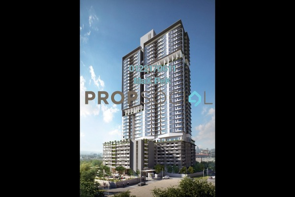 For Sale Condominium at Rica Residence, Sentul Freehold Unfurnished 3R/2B 689k