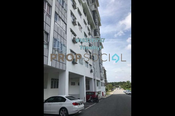 For Rent Apartment at Tiara East, Semenyih Freehold Fully Furnished 3R/2B 1k
