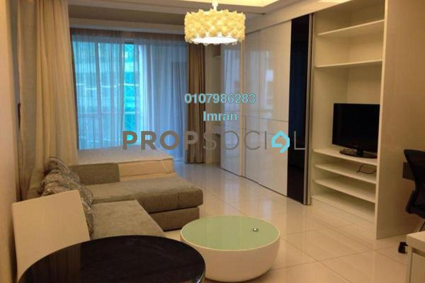For Rent Serviced Residence at Carlton, Sri Hartamas Freehold Fully Furnished 0R/1B 1.8k