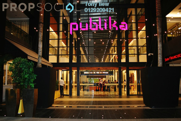 For Rent Shop at Solaris Dutamas, Dutamas Freehold Unfurnished 0R/0B 11k