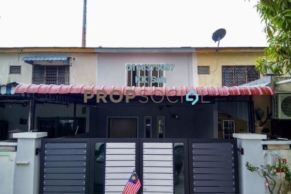 For Sale Link at Taman Klang Jaya, Klang Freehold Semi Furnished 3R/2B 347k