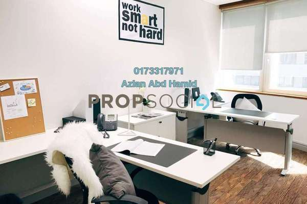 For Rent Office at Etiqa Twins, KLCC Freehold Fully Furnished 0R/0B 1.9k
