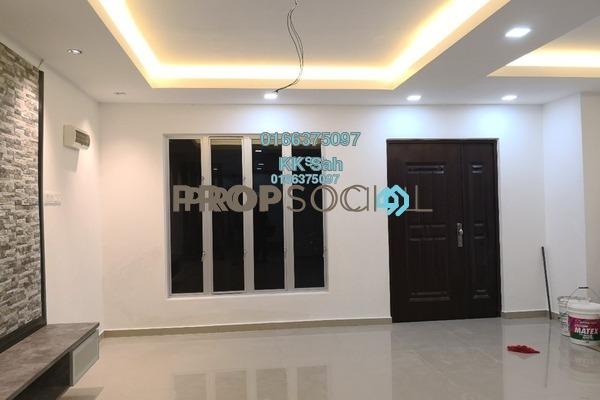 For Sale Link at Taman Sentosa, Klang Freehold Semi Furnished 4R/3B 465k