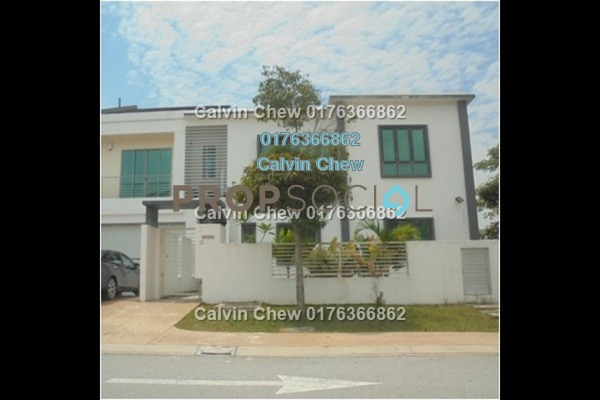 For Sale Semi-Detached at Willow Park, Denai Alam Freehold Unfurnished 7R/6B 1.85m