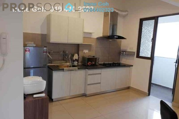 For Rent Condominium at Skycube Residence, Sungai Ara Freehold Fully Furnished 3R/2B 2k