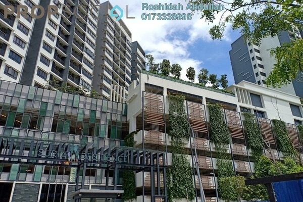 For Rent Serviced Residence at Suria Residence, Bukit Jelutong Freehold Unfurnished 2R/1B 1.3k