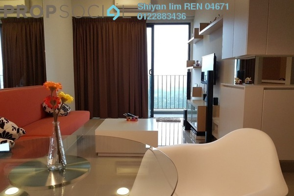 For Rent Condominium at Dex @ Kiara East, Jalan Ipoh Freehold Fully Furnished 2R/1B 1.6k