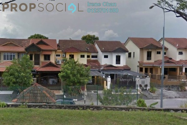 For Sale Terrace at Section 4, Bandar Mahkota Cheras Freehold Semi Furnished 4R/3B 720k
