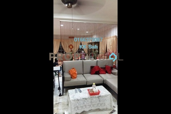 For Sale Superlink at Taman Sentosa Perdana, Klang Freehold Semi Furnished 5R/3B 713k