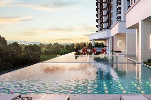 For Sale Serviced Residence at Inspirasi Mont'Kiara, Mont Kiara Freehold Unfurnished 3R/2B 660k
