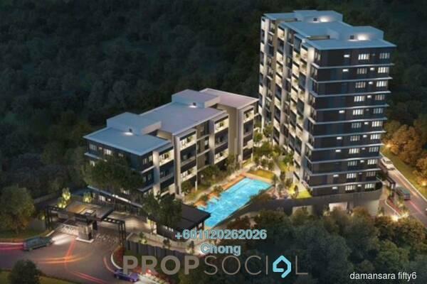 For Sale Condominium at Bukit Damansara, Damansara Heights Freehold Semi Furnished 3R/2B 1.2m