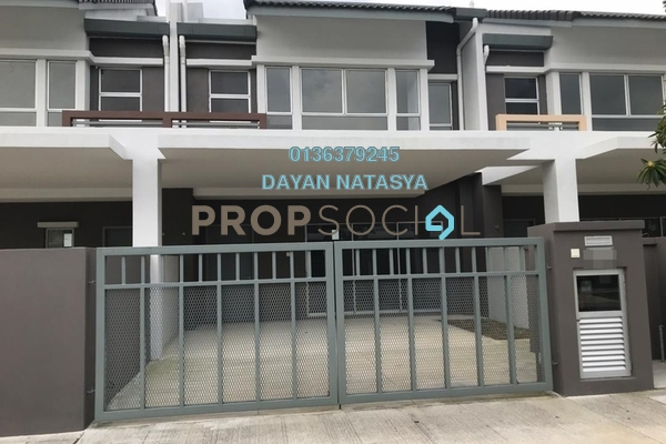 For Rent Terrace at Serene Heights, Bangi Freehold Semi Furnished 5R/4B 1.7k