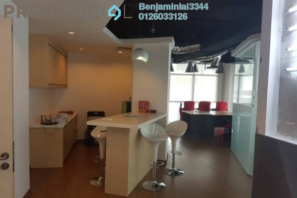 For Rent Office at Solaris Dutamas, Dutamas Freehold Fully Furnished 0R/0B 9k