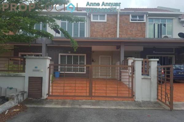 For Sale Terrace at Taman Pelangi Semenyih 2, Semenyih Freehold Semi Furnished 4R/3B 465k