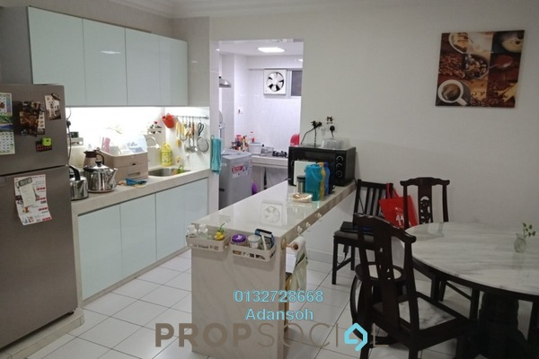 For Sale Apartment at Aman Dua, Kepong Freehold Semi Furnished 3R/2B 320k