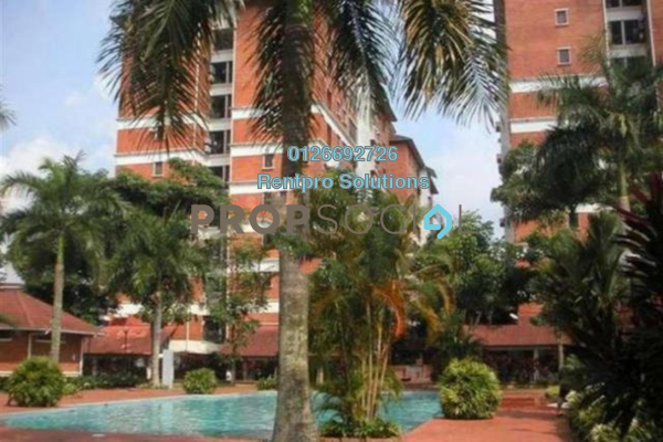 For Rent Apartment at Green Acre Park, Bandar Sungai Long Freehold Semi Furnished 3R/2B 1.3k