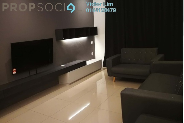 For Rent Serviced Residence at Mahkota Impian, Bukit Minyak Freehold Fully Furnished 3R/2B 1.8k