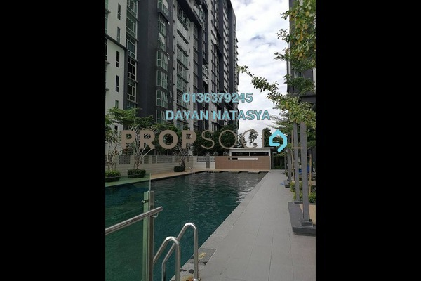 For Rent Serviced Residence at 3Elements, Bandar Putra Permai Freehold Semi Furnished 2R/2B 1k