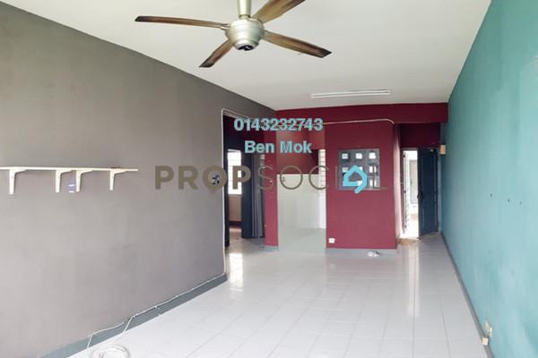 For Sale Apartment at SD Apartments, Bandar Sri Damansara Freehold Semi Furnished 3R/2B 313k