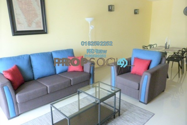 For Rent Condominium at Gaya Bangsar, Bangsar Freehold Fully Furnished 2R/2B 3.3k