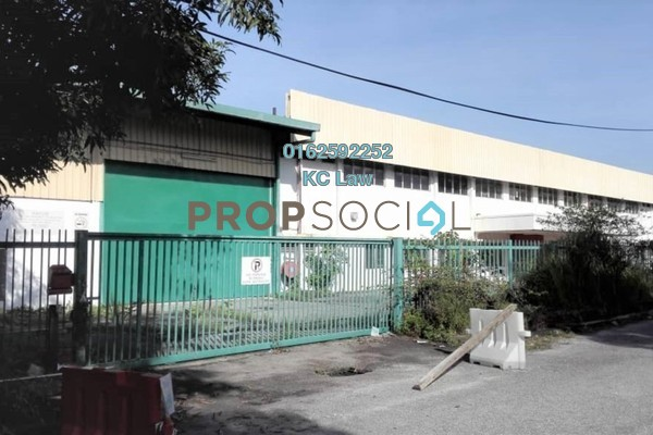 For Rent Factory at Section 13, Petaling Jaya Freehold Unfurnished 0R/0B 122k