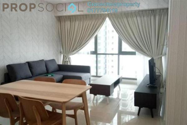 For Rent Serviced Residence at Iskandar Residences, Medini Freehold Fully Furnished 1R/1B 1.5k