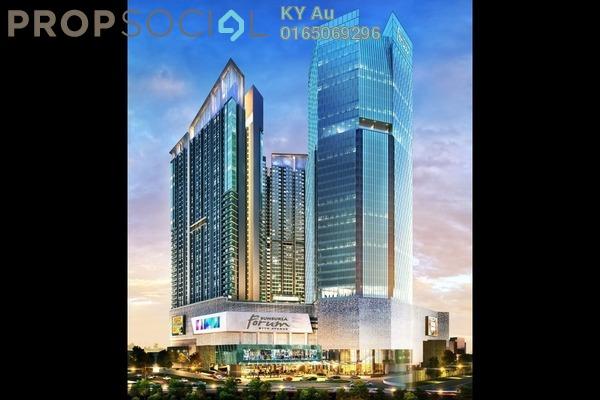 For Sale SoHo/Studio at Sunsuria 7th Avenue, Setia Alam Leasehold Unfurnished 1R/1B 298k