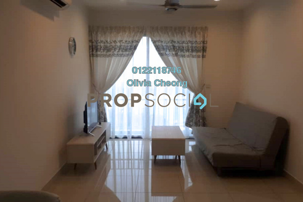 For Rent Serviced Residence at TRiGON Luxury Residences @ Setia Walk, Pusat Bandar Puchong Freehold Fully Furnished 2R/2B 2.6k