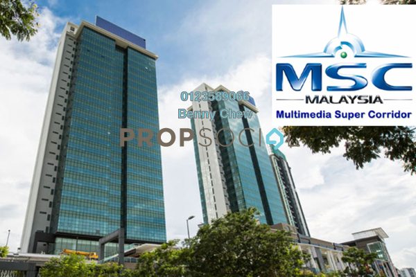 For Rent Office at Malaysian Communications and Multimedia Commission, Cyberjaya Freehold Semi Furnished 0R/0B 29.1k