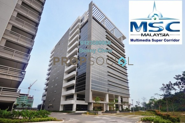 For Rent Office at MKN Embassy TechZone, Cyberjaya Freehold Semi Furnished 0R/0B 37.4k