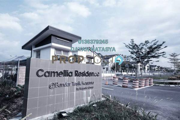 For Rent Terrace at Camellia Residences, Bandar Sungai Long Freehold Semi Furnished 4R/3B 1k