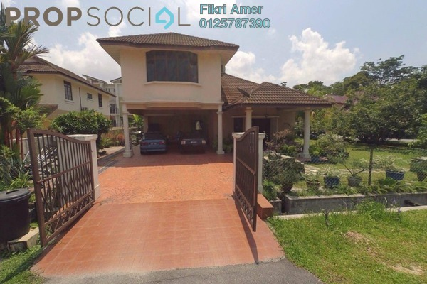 For Sale Bungalow at Langat Jaya, Batu 9 Cheras Freehold Unfurnished 4R/4B 980k