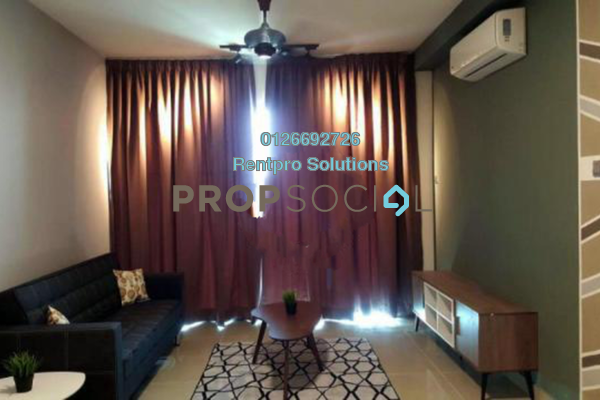For Rent Condominium at Amerin Mall & Residence, Balakong Freehold Fully Furnished 2R/2B 1.75k