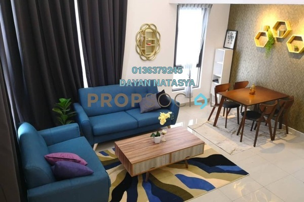 For Rent Serviced Residence at Eclipse Residence @ Pan'gaea, Cyberjaya Freehold Fully Furnished 3R/2B 2.3k