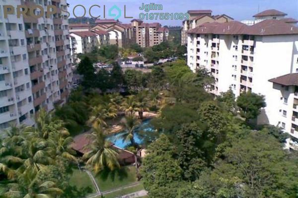 For Rent Condominium at Sri Damansara Court, Bandar Sri Damansara Freehold Semi Furnished 3R/2B 1.4k