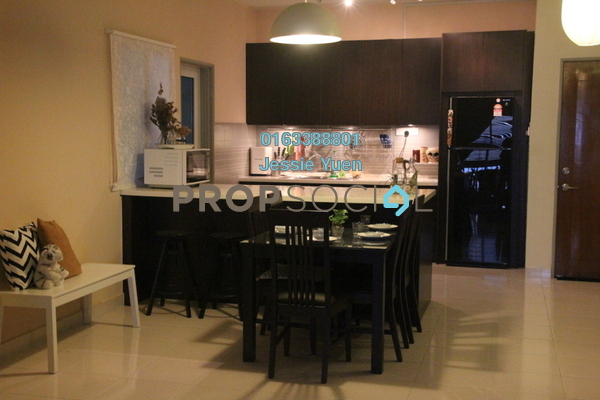 For Sale Condominium at Symphony Heights, Selayang Freehold Fully Furnished 4R/3B 480k