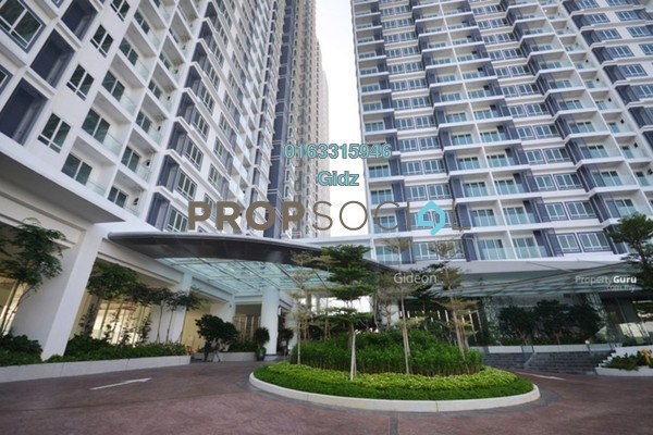 For Sale Serviced Residence at Desa Green Serviced Apartment, Taman Desa Freehold Fully Furnished 3R/2B 808k